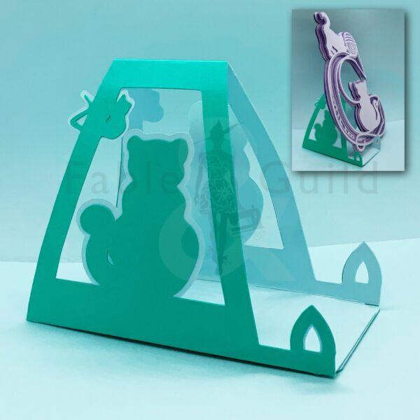 Kitten Jo Cut File Card Stand