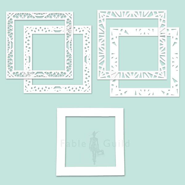 Mandala Decorative Frame Plate