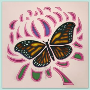 SVG cutting files - Mums Butterfly