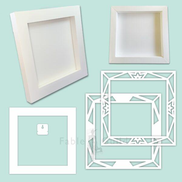 3D Starlight Shadow Box Frame
