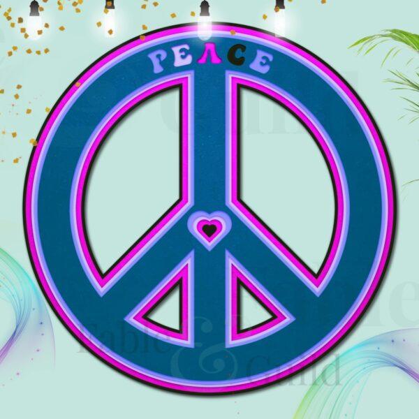 Peace Symbol Sign - Peace SVG Cut File