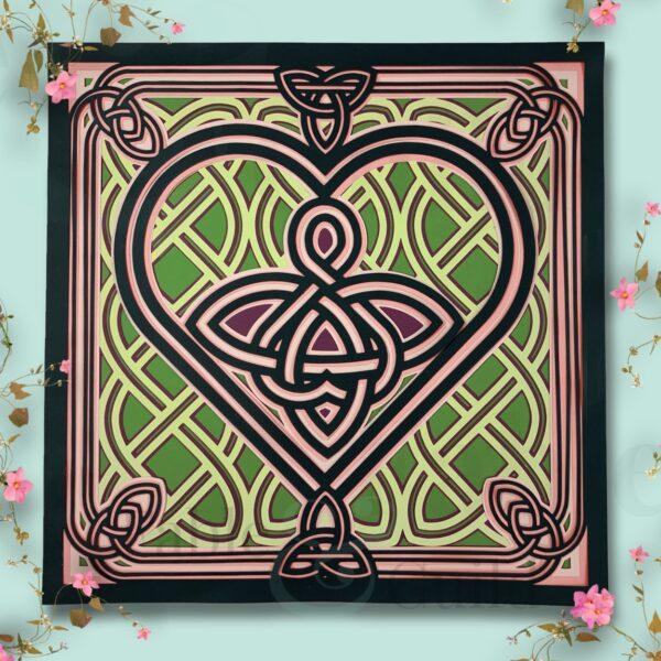 Celtic Angel Cut File