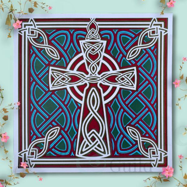 Celtic Cross Irish Pride Celtic Cross Cutting FileCeltic Cross Irish Pride Celtic Cross Cutting File