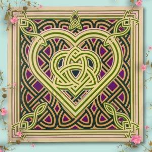 Celtic Knot Irish Jewel Celtic Knot Cutting File