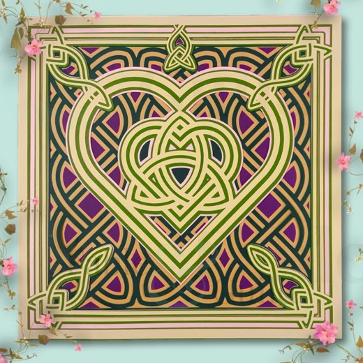 Celtic Knot Irish Jewel - SVG Cut File