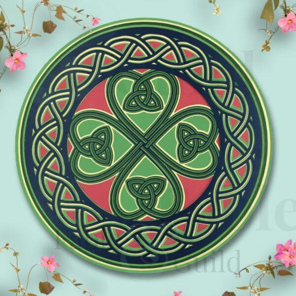 Shamrock - Lucky Celtic Shamrock Cut File