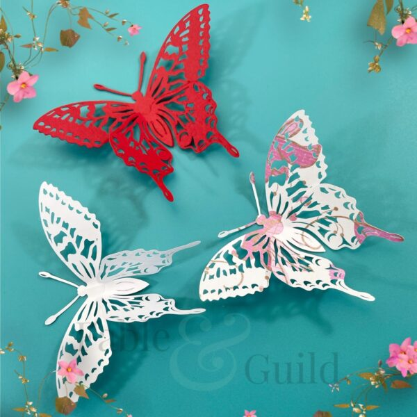 Majestic Butterfly Silhouette SVG cutting file