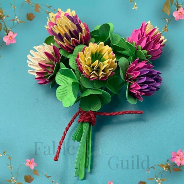 Clover Posy Flower SVG for Cricut