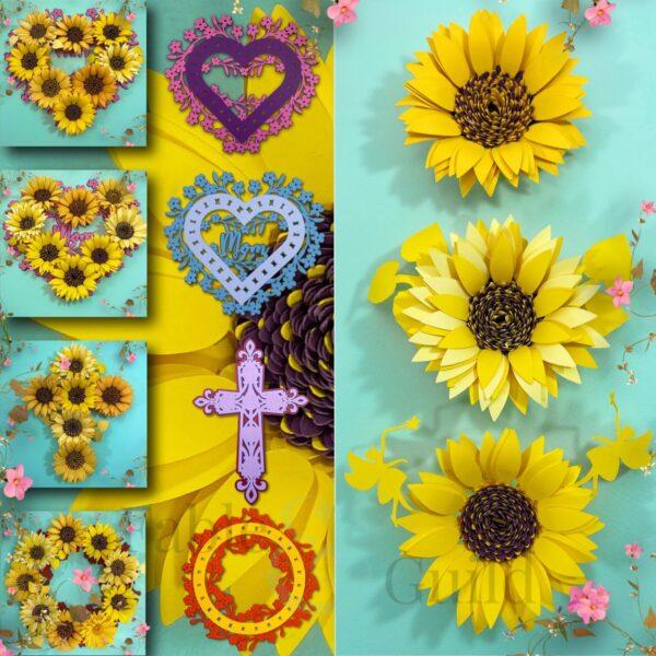 Cricut Sunflower SVG