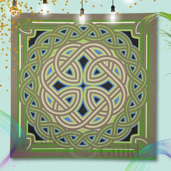 Celtic Eternity (3D Layered Cricut Design)