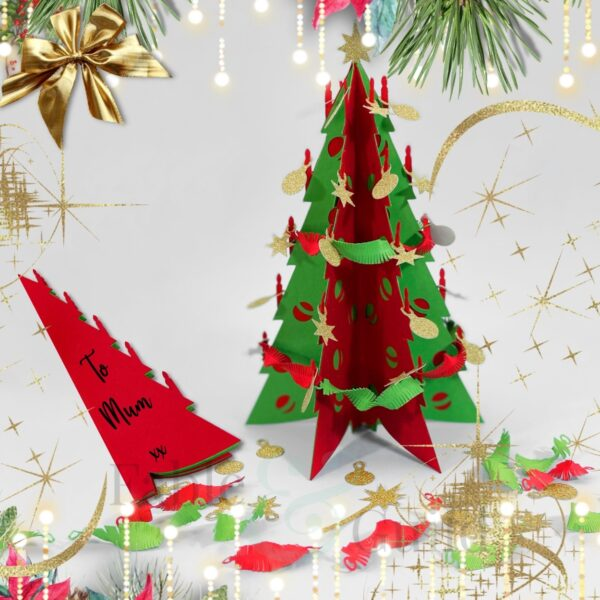 The Festive Cricut Christmas Tree SVG Cut File