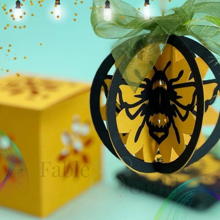 3D SVG Cut Ornaments