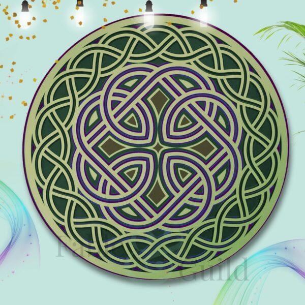 Celtic Bond (3D Celtic Knot SVG)