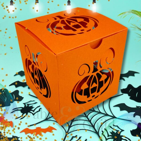 Halloween Treat Box SVG