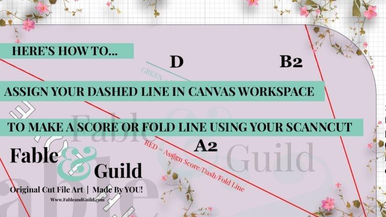 Assign Score Line Canvas Workspace