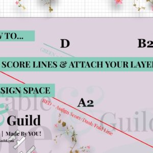 Here's How To Assign Score Lines in Cricut Design Space (and Attach Layers)