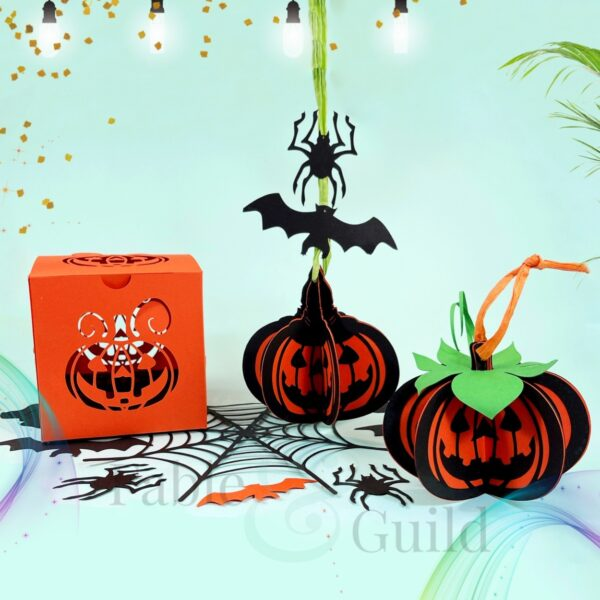 3D Halloween Bauble SVGFile