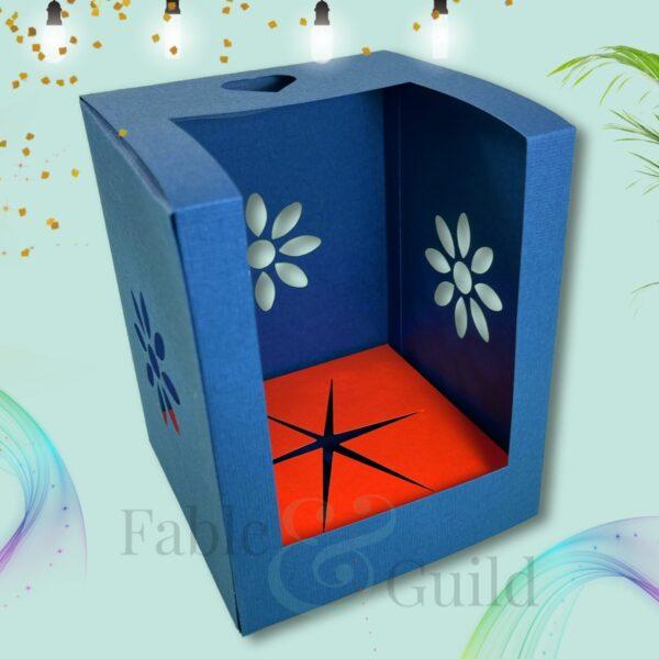 Sunshine Gift Box SVG Cut File