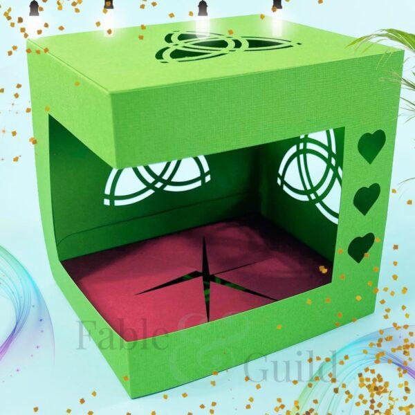 Celtic Trinity Gift Box Cut File SVG
