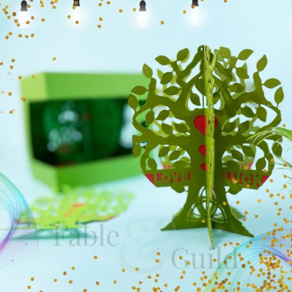 3D Tree of Life SVG Gift Card Cut File